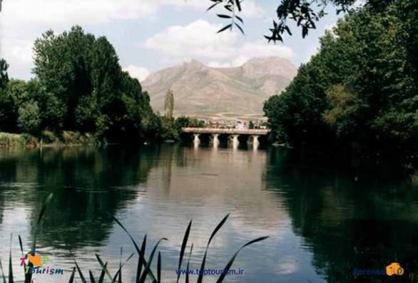 رودخانه مهاباد نگینی در دل شهر مهاباد